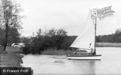 South Walsham, Yacht c1931