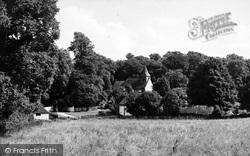 Church And Village c.1955, South Warnborough