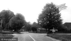 Cross Trees c.1955, South Warnborough