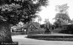 Memorial Corner c.1955, South Warnborough