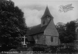 St Andrew's Church 1904, South Warnborough