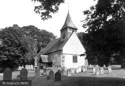 St Andrew's Church c.1960, South Warnborough