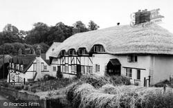 The Village c.1960, South Warnborough