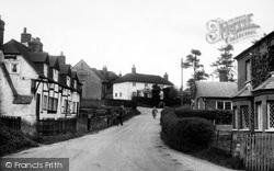 Upton Road c.1955, South Warnborough