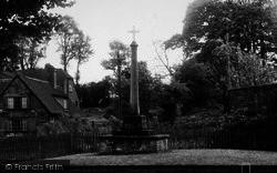 War Memorial c.1955, South Warnborough
