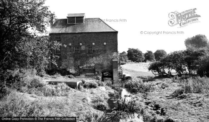 South Wigston,Crow Mill c1960,Leicestershire