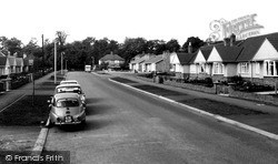 Gloucester Crescent c.1960, South Wigston