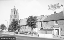 The Church And Memorial c.1960, South Wigston
