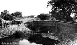 South Wigston, Two Bridges c.1960
