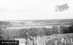 South Wingfield, View From The Tower c.1960