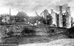 South Wingfield, Wingfield Manor 1892