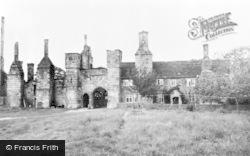 South Wingfield, Wingfield Manor c.1960