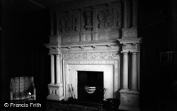 South Wraxall, Manor, The Green Room Fireplace c.1900