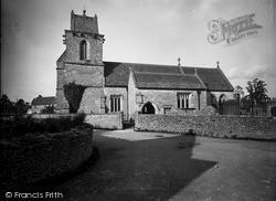 South Wraxall, St John's Church c.1900