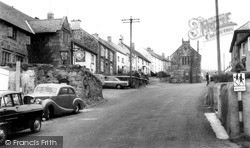 South Zeal, The Village c.1960