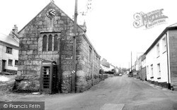 South Zeal, The Village c.1965