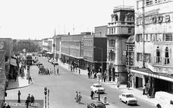 Above Bar c.1960, Southampton