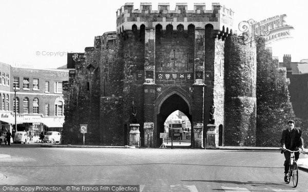 Southampton, Bargate c1955
