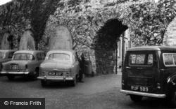 Castle, N. Curtain Wall c.1960, Southampton