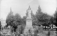 Southampton, Dr Watt's Statue 1908