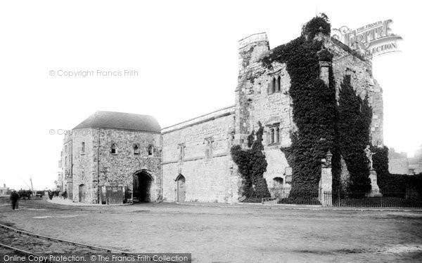 Southampton, Flood Gate Bar And God's House Tower 1892