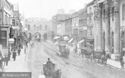 Looking Towards Bargate c.1890, Southampton