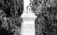 Southampton, Lord Palmerstone's Statue 1908