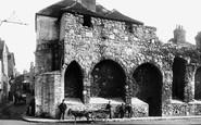 Southampton, Old Town Walls 1892