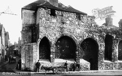 Old Town Walls 1892, Southampton