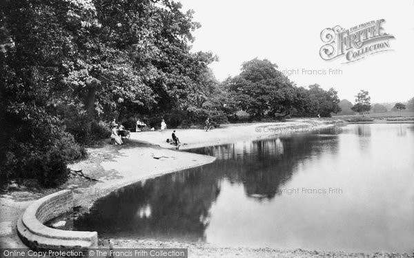 Photo of Southampton, on the Common, the Pond 1908