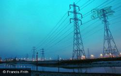 Power Lines At Night 2005, Southampton