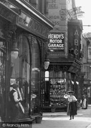 Southampton, Shops In Above Bar c.1900