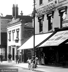 Southampton, Shops In Above Bar c.1900