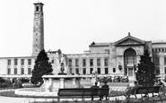 Southampton, The Civic Centre c.1955