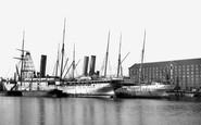 Southampton, The Docks 1917