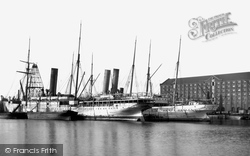 Southampton, The Docks 1917