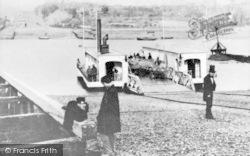 The Floating Bridge c.1880, Southampton