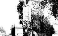 Southampton, The Mayflower Memorial c.1955