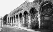 Southampton, The Old Town Walls 1892