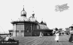 Southampton, The Royal Pier Pavilion 1908