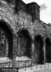 Town Walls, Arcaded Section 1958, Southampton