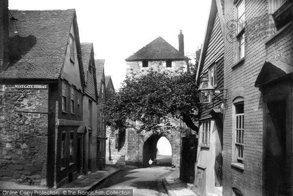 Southampton, Westgate 1908
