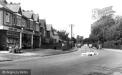Southbourne, Chichester Road c.1955