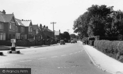 Southbourne, Chichester Road c.1965