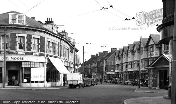 Southbourne, St Catherine's Road c1955