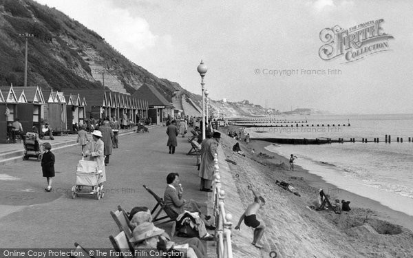 Photo of Southbourne, The Promenade c.1955