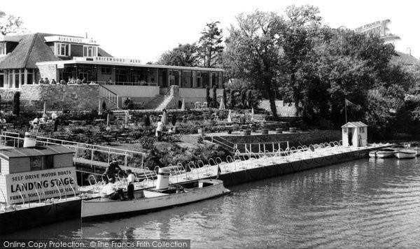 Southbourne, the Riverside Inn, Tuckton c1965