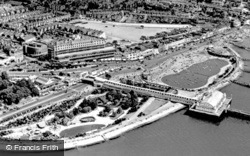 Southend-on-Sea, Aerial View c.1955