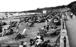 Southend-on-Sea, Chalkwell Beach c.1947