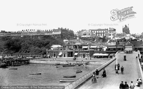 Photo of Southend-On-Sea, from the Pier 1898, ref. 41378